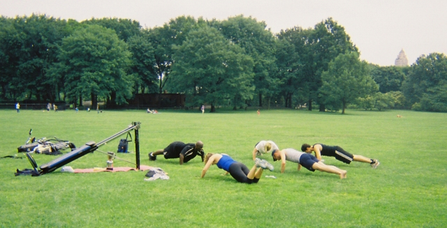 Chest - Pushups, 10 reps