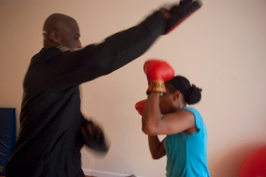 Boxing session