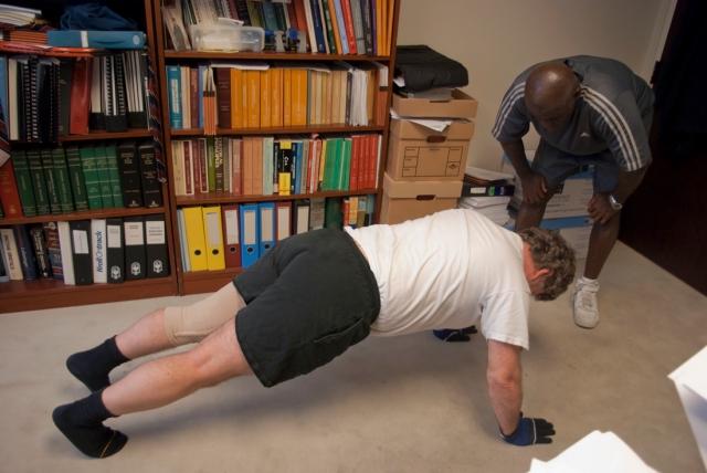 Chest - pushups