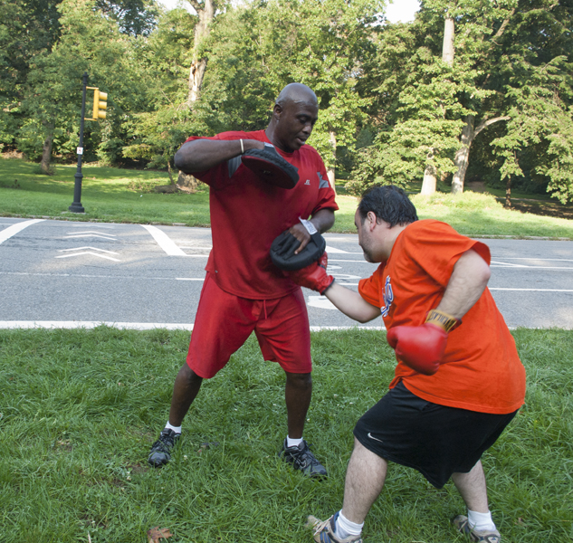 Boxing combinations - combo 3, uppercut