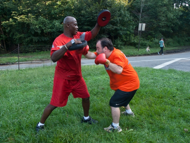 Boxing combinations - combo 4, 4-punch
