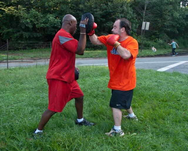 Boxing combinations - combo 5, 4-punch & uppercut