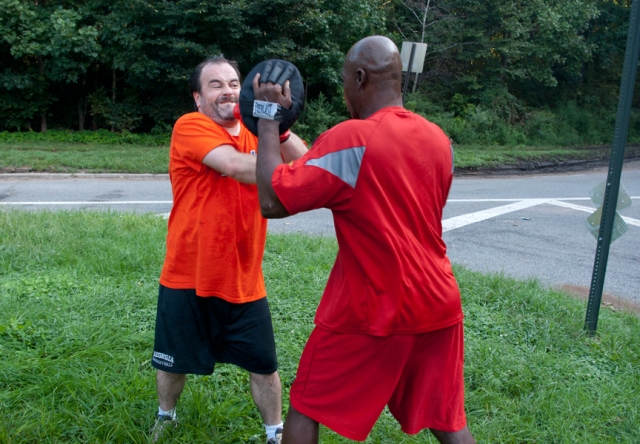 Boxing combinations - combo 6, 6-punch